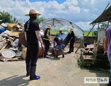 농식품부, 호우피해 축산농가 피해복구·경영복귀 지원