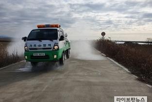 전북 정읍 육용오리 농장에서고병원성 조류인플루엔자 발생